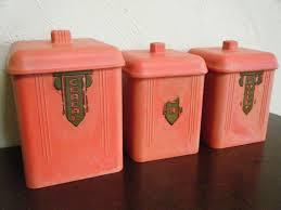 kitchen canister sets australia 82 best vtg kitchen misc canisters plastic images on