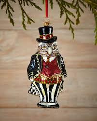 mackenzie childs mr fowler ornament