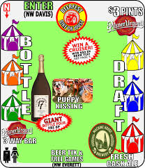 Portland Brewery Map by Portland U0027s Beer Festival Season Gets Contentious New Beer