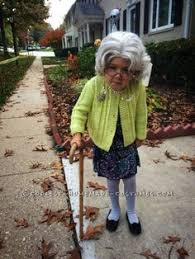 Bad Grandpa Halloween Costume Lady Halloween Costume Halloween Costumes