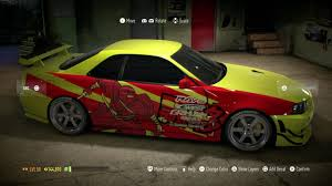 syndicate car teama99e street racing syndicate r34 resemblance build nfs 2015