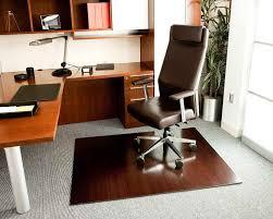 Computer Desk Floor Mats Flooring Ideas Wood Office Floor Mats Brown Wheeled