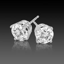 h earrings 1 carat diamond earrings studs 1 carat vs2 h excellent cut 4