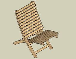 Wood Folding Chair Plans Free by Camp Chair Plans Free