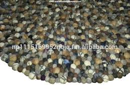 Pebble Stone Rug Stone Rug Wool Stone Rug Wool Suppliers And Manufacturers At