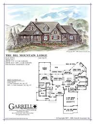 mountain cabin floor plans apartments mountain floor plans carolina villyard and