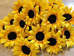 sunflowers for sale sunflower sale silk sunflowers artificial sunflower hair