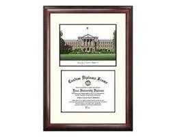 diploma holder bascom lithograph print with diploma holder