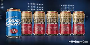 where to buy bud light nfl cans 2017 bud light unveils new nfl super bowl cans initiative