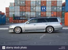 skyline wagon nissan stagea wagon car stock photo royalty free image 41746566