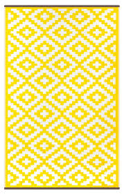 Yellow And White Outdoor Rug Yellow Indoor Outdoor Rug Green Decore