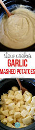 do ahead mashed potatoes for thanksgiving slow cooker garlic mashed potatoes recipe add a pinch