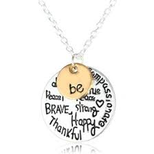 inspirational pendants inspirational necklaces canada best selling inspirational