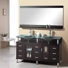 bathroom spacious modern bathroom vanities with vessel sink on