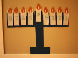 kid friendly decoration felt menorah repeat crafter me