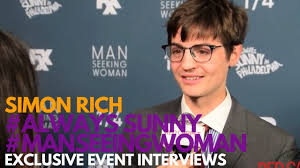 Seeking Simon Rich Simon Rich At The Fxx Premiere For Seeking Season 3
