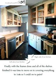 installing your own kitchen cabinets how to make your own kitchen cabinets step by step medium size of