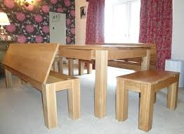 Triangle Dining Table With Bench Rustic Benches For Dining Table Farm Bench Dining Table Wooden