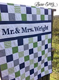 monogrammed wedding guest book wedding quilt patchwork monogram name quilt custom made