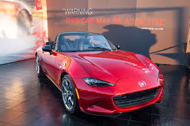 mazda roadster 2016 mazda mx 5 miata roadster production begins and price is revealed