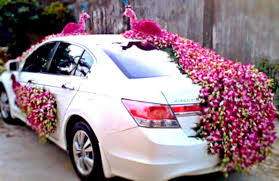car decorations attractive and affordable wedding car decorations
