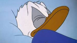 Donald Duck Meme - angry good night gif find share on giphy