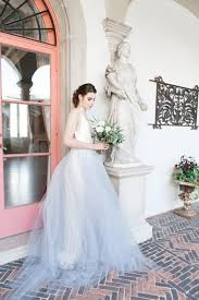 Blue Wedding Dress Blue Wedding Dresses Bridal Style Trendy Bride Magazine