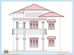 2500 Sq Ft House Plans Single Story by Home Plan And Elevation 2318 Sq Ft Home Appliance