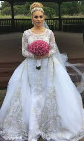 pictures of wedding dresses stephen yearick 2 500 size 2 used wedding dresses