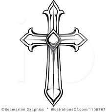 clipart of a cross