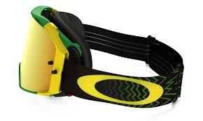 oakley goggles motocross oakley airbrake mx goggle shockwave green yellow 24k iridium lens