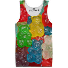 gummy clothes gummy bears tank shirts tops bears clothes and