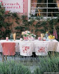 outdoor party ideas martha stewart