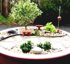 Indoor Rock Garden - beautiful ideas for small back garden backyard landscaping gallery