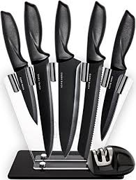 professional kitchen knives set kitchen knives knife set with stand plus
