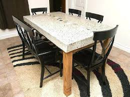 decoration of dining table mitventures granite top dining table online india image for glass top
