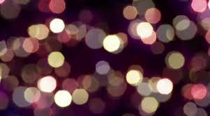 1080p sparkling lights on a background stock