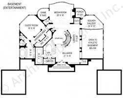 Media Room Plans - villa capri mansion house plans luxury house plans