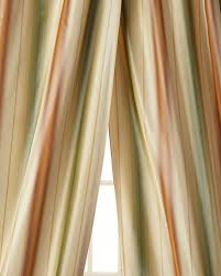 Green Striped Curtains Green Striped Curtains Horchow