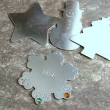 metal personalized ornaments decore