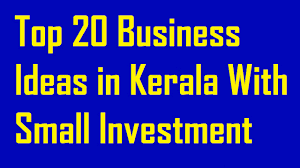 20 business ideas in kerala with small investment youtube