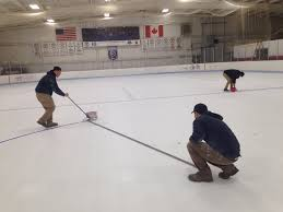 how they make ice for hockey blackhawk nation