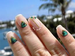 green paua shell nails u2013 my nail envy