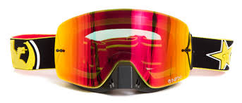 motocross goggles review dragon new mx nfxs rockstar energy ionized yellow red tinted