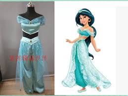 Princess Jasmine Halloween Costume Women Buy Wholesale Princess Jasmine Costume Adults China