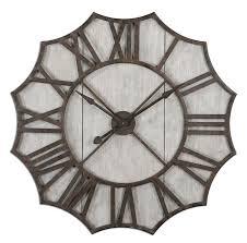 Decorative Metal Wall Clocks Swish Metal Industrial Wall Clock Industrial Wall Clock Ideas