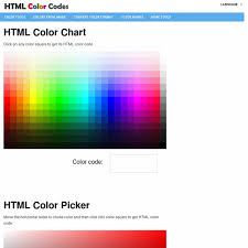 beautiful html color code chart photos resume samples u0026 writing