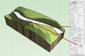 vectorworks tip 248 u2013 site modelling u2013 site modifiers u2013 nurbs