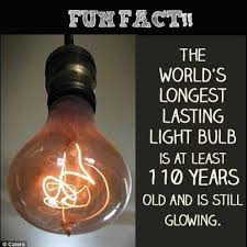 longest lasting light bulb did you know the world s longest lasting light bulb is located in