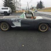 1961 corvette project for sale 1961 chevrolet corvette project for sale photos technical